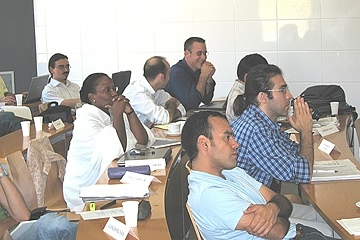 High attention during the workshop