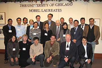Chicago conference attendees together