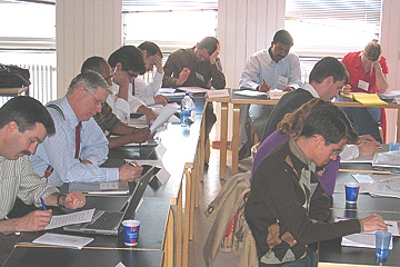 2007 Reykjavik participants during a workshop session