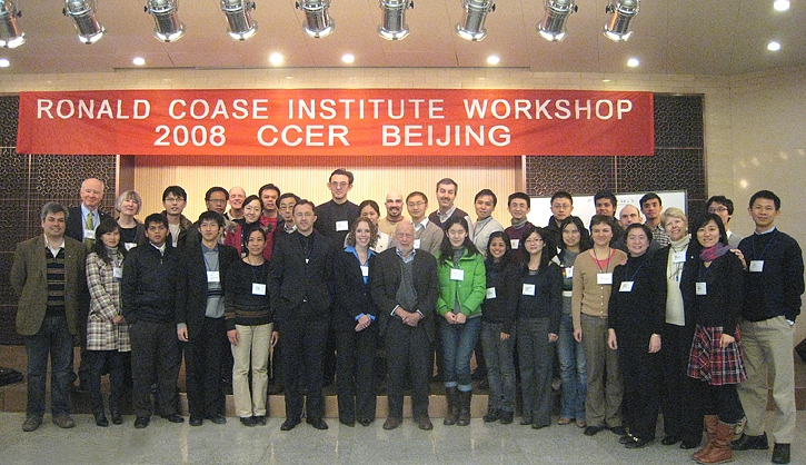 After 2008 Beijing session with Douglass North