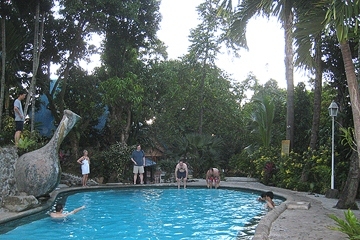 Swimming pool in Los Baños resort