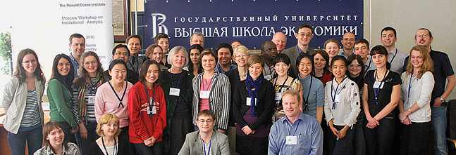 2010 Moscow workshop graduates and faculty