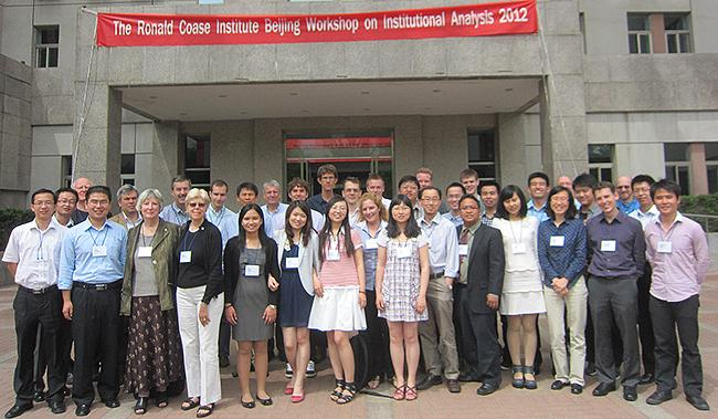 2012 Beijing workshop graduates and faculty