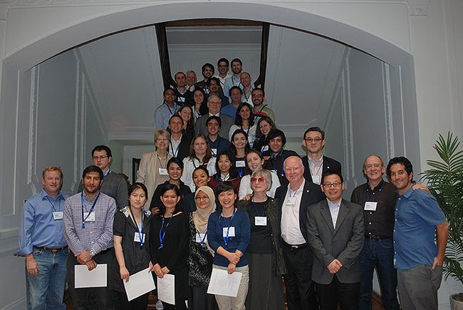 2012 Santiago workshop graduates and faculty