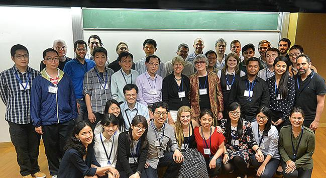 2015 Hong Kong workshop graduates and faculty