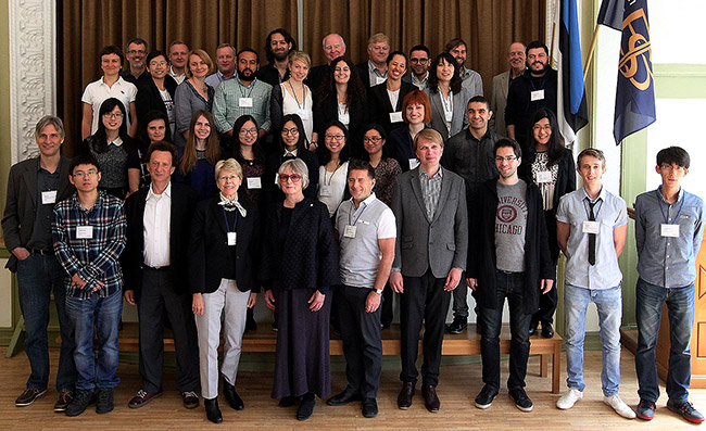 2016 Tallinn workshop graduates and faculty