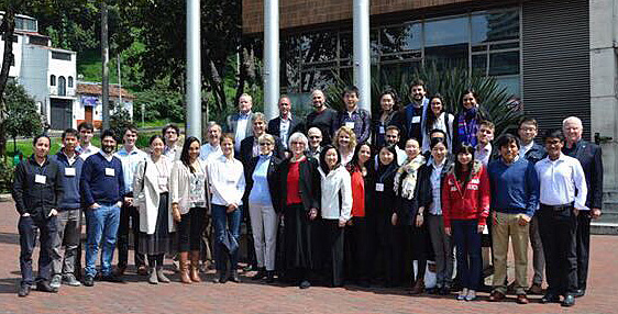 2017 Bogota workshop participants and faculty